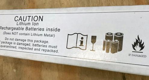 Mattolini - Imballaggio delle batterie al Litio