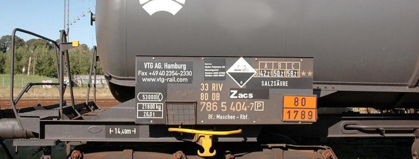 Mattolini SRL - Trasporto Merci Pericolose su Ferrovia